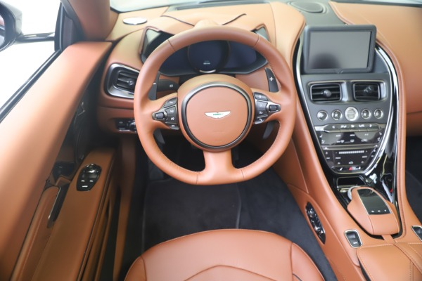 New 2020 Aston Martin DBS Superleggera Volante for sale $375,916 at Rolls-Royce Motor Cars Greenwich in Greenwich CT 06830 19