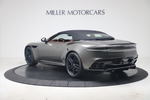 New 2020 Aston Martin DBS Superleggera Volante for sale $375,916 at Rolls-Royce Motor Cars Greenwich in Greenwich CT 06830 28