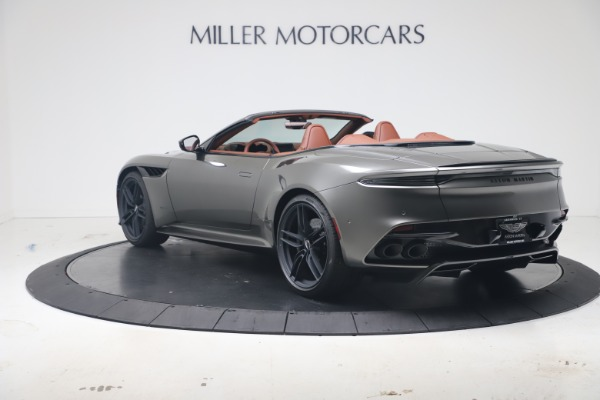 New 2020 Aston Martin DBS Superleggera Volante for sale $375,916 at Rolls-Royce Motor Cars Greenwich in Greenwich CT 06830 4