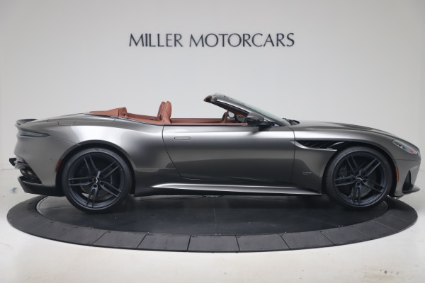 New 2020 Aston Martin DBS Superleggera Volante for sale $375,916 at Rolls-Royce Motor Cars Greenwich in Greenwich CT 06830 8