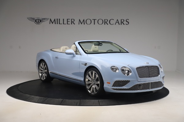 Used 2017 Bentley Continental GT Convertible W12 for sale $169,900 at Rolls-Royce Motor Cars Greenwich in Greenwich CT 06830 12
