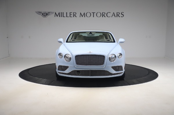 Used 2017 Bentley Continental GT Convertible W12 for sale $169,900 at Rolls-Royce Motor Cars Greenwich in Greenwich CT 06830 13