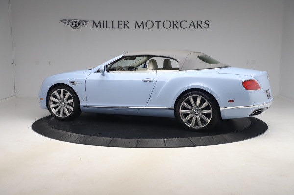 Used 2017 Bentley Continental GT Convertible W12 for sale $169,900 at Rolls-Royce Motor Cars Greenwich in Greenwich CT 06830 17