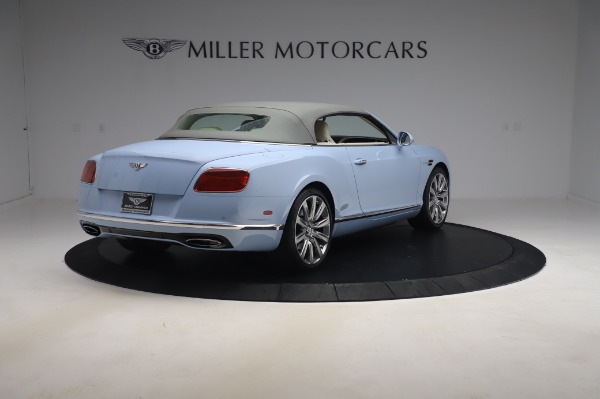 Used 2017 Bentley Continental GT Convertible W12 for sale $169,900 at Rolls-Royce Motor Cars Greenwich in Greenwich CT 06830 20
