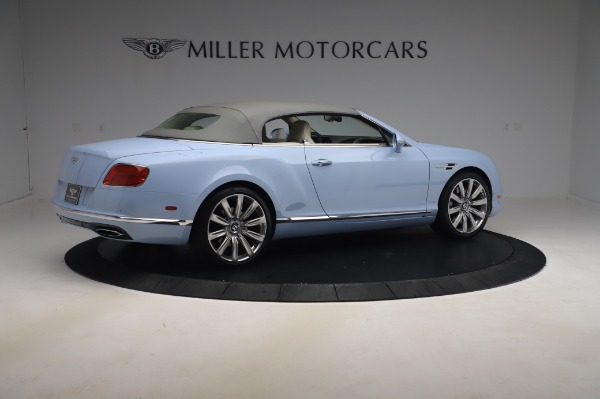 Used 2017 Bentley Continental GT Convertible W12 for sale $169,900 at Rolls-Royce Motor Cars Greenwich in Greenwich CT 06830 21