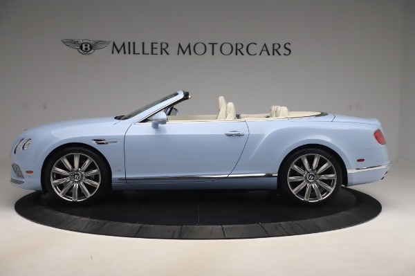 Used 2017 Bentley Continental GT Convertible W12 for sale $169,900 at Rolls-Royce Motor Cars Greenwich in Greenwich CT 06830 3