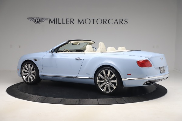 Used 2017 Bentley Continental GT Convertible W12 for sale $169,900 at Rolls-Royce Motor Cars Greenwich in Greenwich CT 06830 4