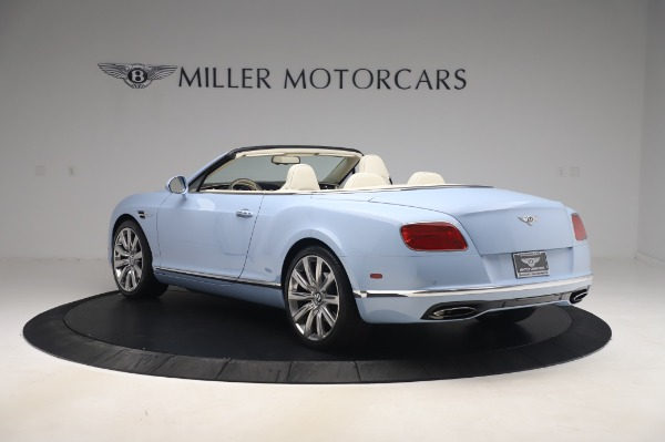 Used 2017 Bentley Continental GT Convertible W12 for sale $169,900 at Rolls-Royce Motor Cars Greenwich in Greenwich CT 06830 5