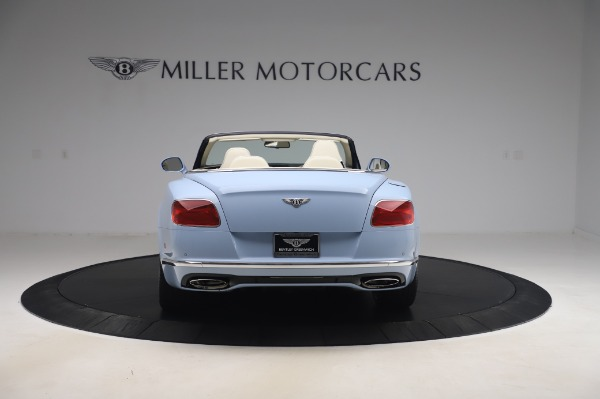Used 2017 Bentley Continental GT Convertible W12 for sale $169,900 at Rolls-Royce Motor Cars Greenwich in Greenwich CT 06830 6