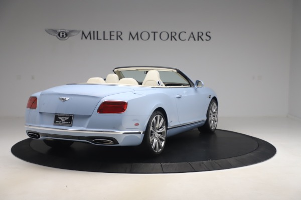 Used 2017 Bentley Continental GT Convertible W12 for sale $169,900 at Rolls-Royce Motor Cars Greenwich in Greenwich CT 06830 7