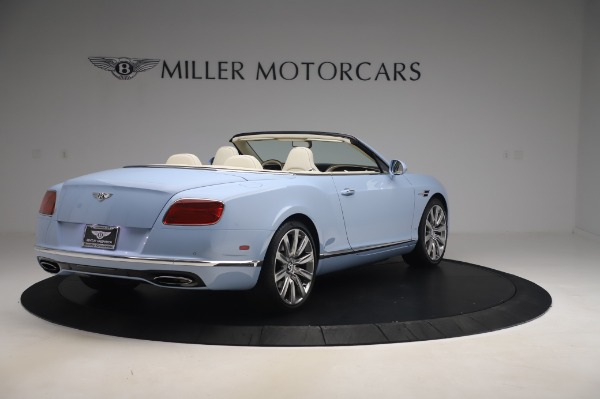 Used 2017 Bentley Continental GT Convertible W12 for sale $169,900 at Rolls-Royce Motor Cars Greenwich in Greenwich CT 06830 8