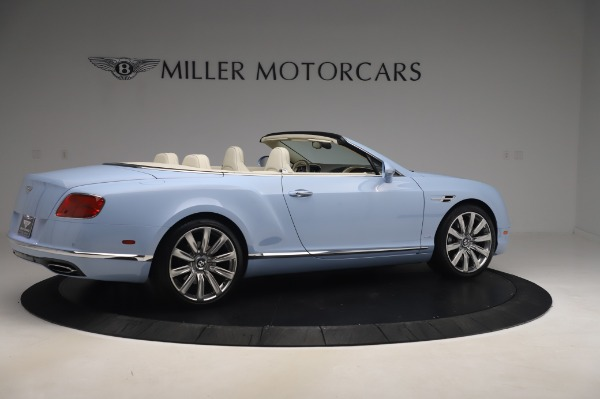 Used 2017 Bentley Continental GT Convertible W12 for sale $169,900 at Rolls-Royce Motor Cars Greenwich in Greenwich CT 06830 9