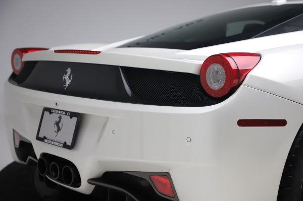 Used 2013 Ferrari 458 Italia for sale Sold at Rolls-Royce Motor Cars Greenwich in Greenwich CT 06830 27