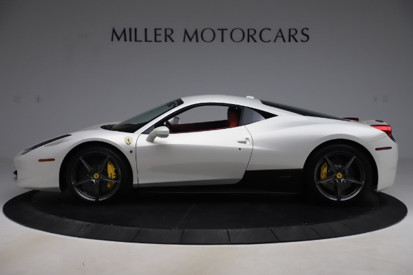 Used 2013 Ferrari 458 Italia for sale Sold at Rolls-Royce Motor Cars Greenwich in Greenwich CT 06830 3