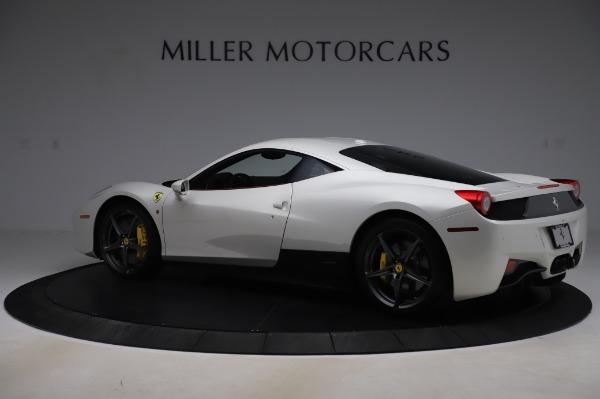 Used 2013 Ferrari 458 Italia for sale Sold at Rolls-Royce Motor Cars Greenwich in Greenwich CT 06830 4