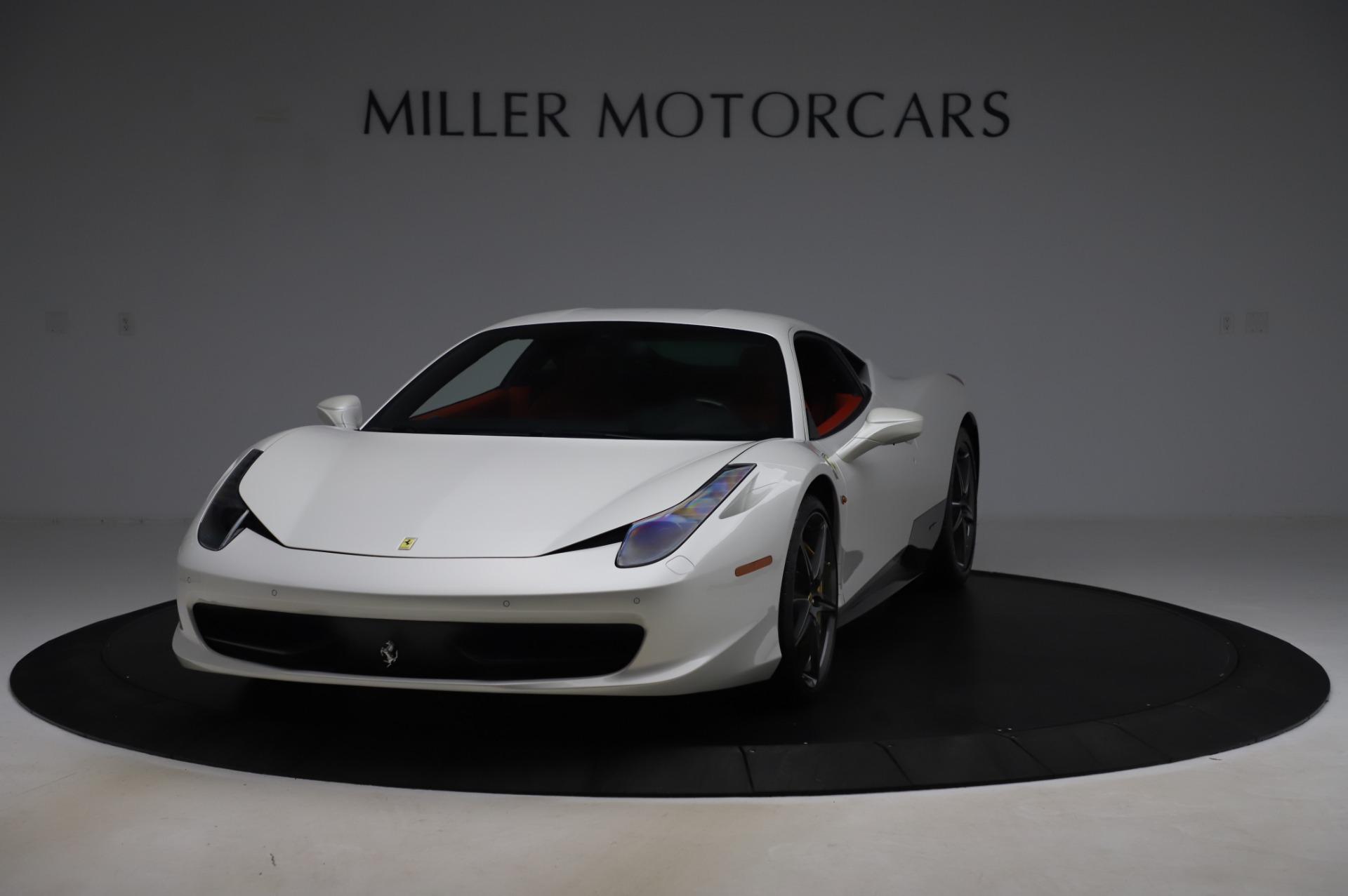 Used 2013 Ferrari 458 Italia for sale Sold at Rolls-Royce Motor Cars Greenwich in Greenwich CT 06830 1
