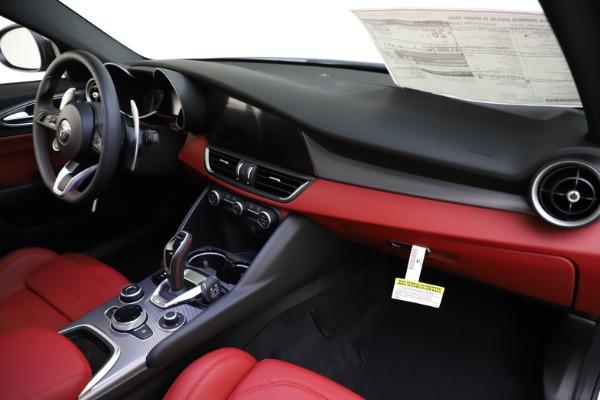 New 2020 Alfa Romeo Giulia Ti Sport Q4 for sale Sold at Rolls-Royce Motor Cars Greenwich in Greenwich CT 06830 21