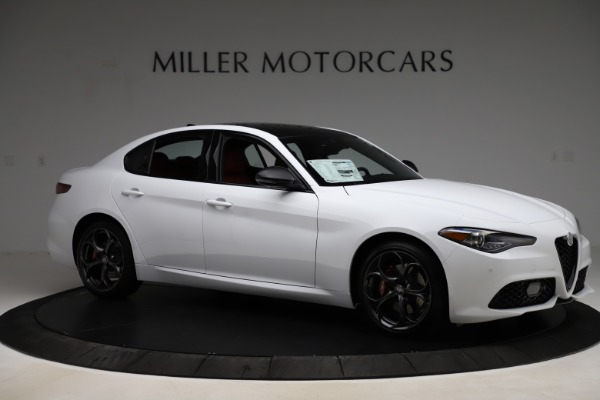 New 2020 Alfa Romeo Giulia Ti Sport Q4 for sale $52,395 at Rolls-Royce Motor Cars Greenwich in Greenwich CT 06830 10