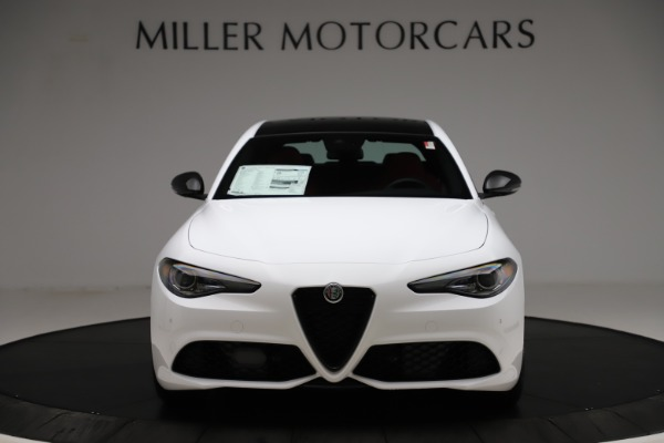 New 2020 Alfa Romeo Giulia Ti Sport Q4 for sale $52,395 at Rolls-Royce Motor Cars Greenwich in Greenwich CT 06830 12