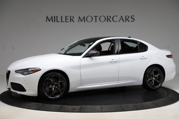 New 2020 Alfa Romeo Giulia Ti Sport Q4 for sale $52,395 at Rolls-Royce Motor Cars Greenwich in Greenwich CT 06830 2