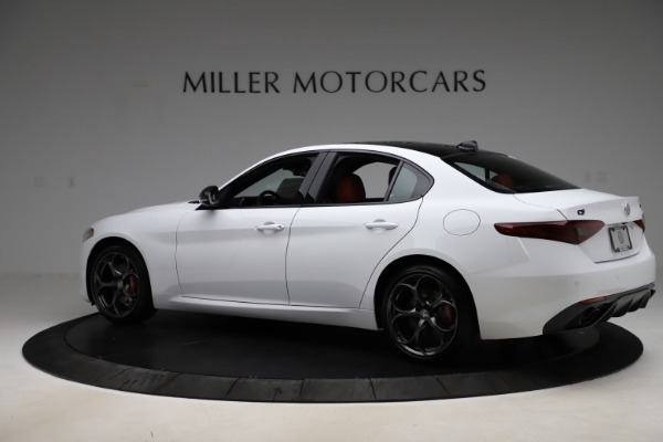 New 2020 Alfa Romeo Giulia Ti Sport Q4 for sale $52,395 at Rolls-Royce Motor Cars Greenwich in Greenwich CT 06830 4