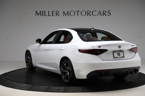 New 2020 Alfa Romeo Giulia Ti Sport Q4 for sale $52,395 at Rolls-Royce Motor Cars Greenwich in Greenwich CT 06830 5