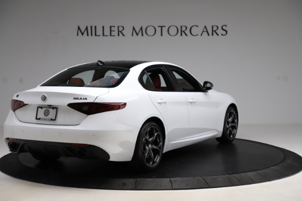 New 2020 Alfa Romeo Giulia Ti Sport Q4 for sale $52,395 at Rolls-Royce Motor Cars Greenwich in Greenwich CT 06830 7