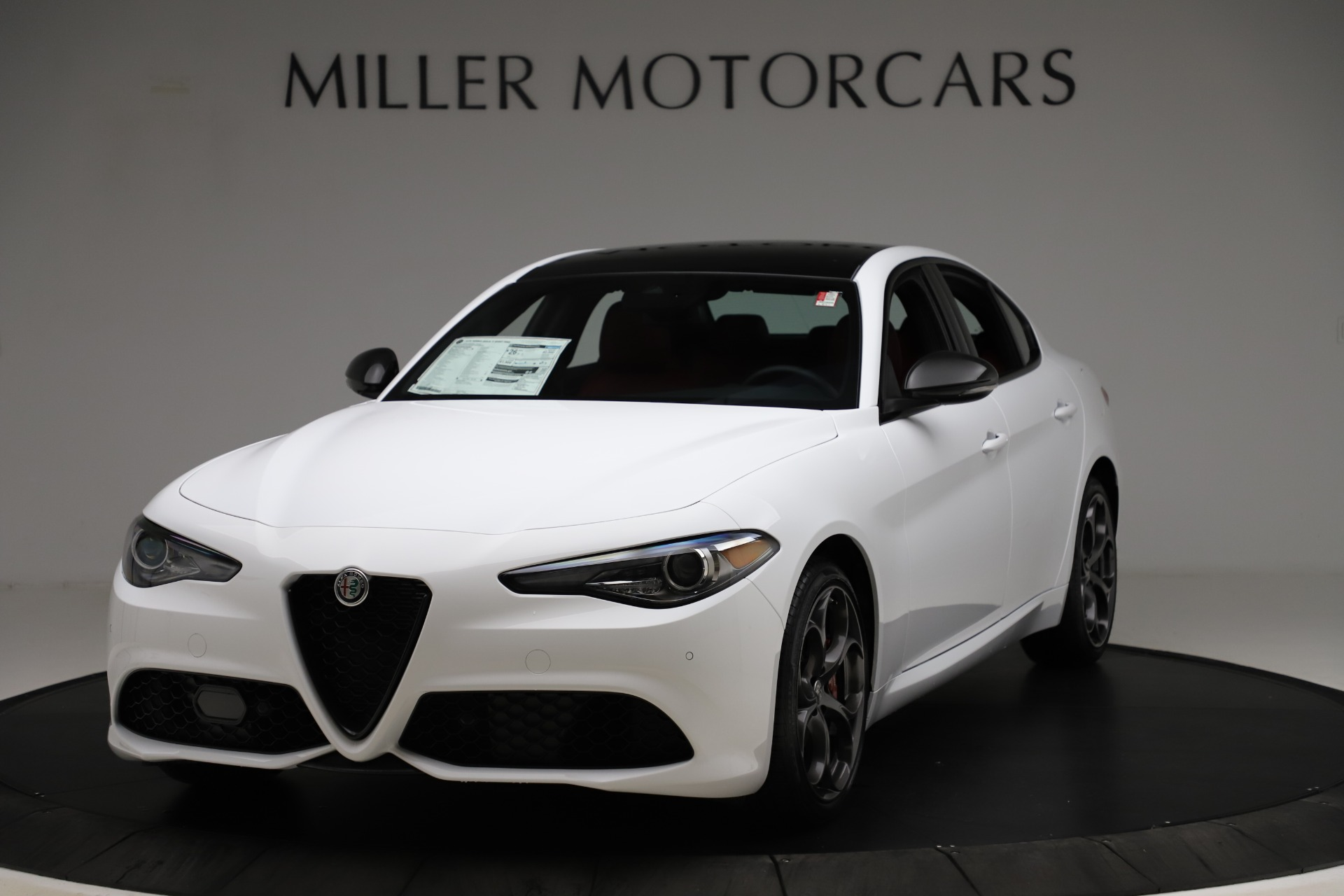 New 2020 Alfa Romeo Giulia Ti Sport Q4 for sale $52,395 at Rolls-Royce Motor Cars Greenwich in Greenwich CT 06830 1