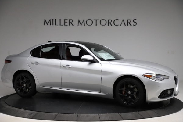 New 2020 Alfa Romeo Giulia Sport Q4 for sale Sold at Rolls-Royce Motor Cars Greenwich in Greenwich CT 06830 10