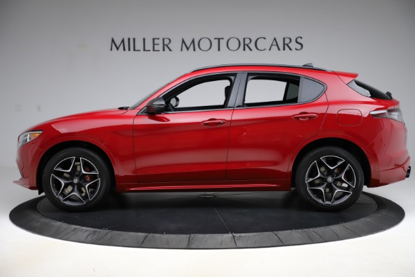 New 2020 Alfa Romeo Stelvio Ti Sport Carbon Q4 for sale Sold at Rolls-Royce Motor Cars Greenwich in Greenwich CT 06830 3