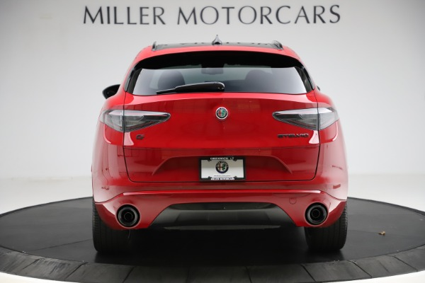 New 2020 Alfa Romeo Stelvio Ti Sport Carbon Q4 for sale Sold at Rolls-Royce Motor Cars Greenwich in Greenwich CT 06830 6