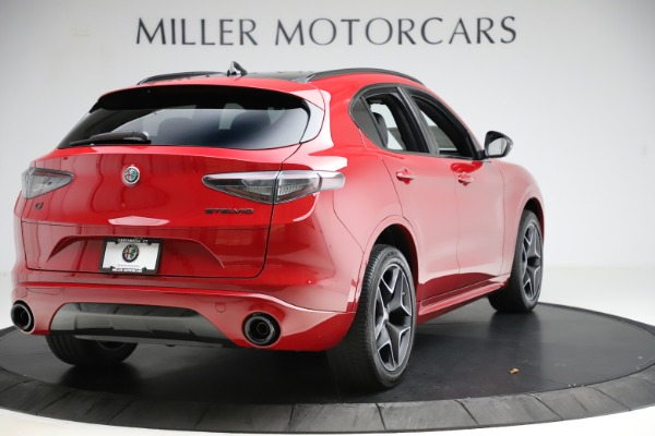 New 2020 Alfa Romeo Stelvio Ti Sport Carbon Q4 for sale Sold at Rolls-Royce Motor Cars Greenwich in Greenwich CT 06830 7