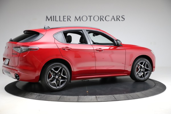 New 2020 Alfa Romeo Stelvio Ti Sport Carbon Q4 for sale Sold at Rolls-Royce Motor Cars Greenwich in Greenwich CT 06830 8