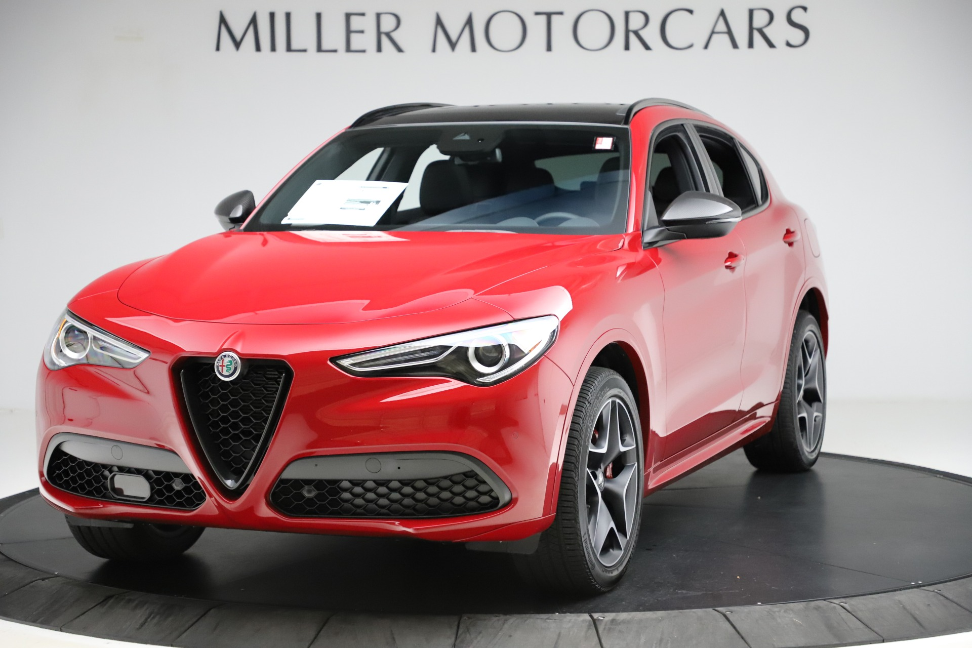 New 2020 Alfa Romeo Stelvio Ti Sport Carbon Q4 for sale Sold at Rolls-Royce Motor Cars Greenwich in Greenwich CT 06830 1