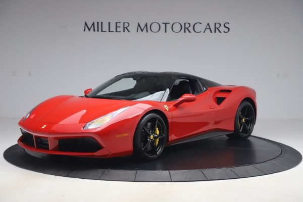 Used 2018 Ferrari 488 Spider for sale $286,900 at Rolls-Royce Motor Cars Greenwich in Greenwich CT 06830 12