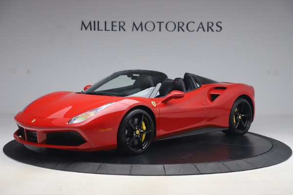 Used 2018 Ferrari 488 Spider for sale $286,900 at Rolls-Royce Motor Cars Greenwich in Greenwich CT 06830 2