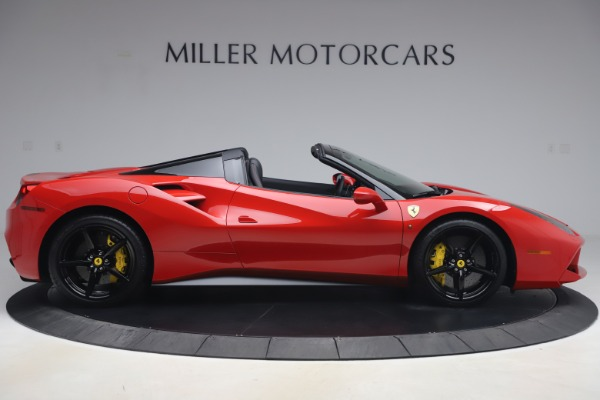Used 2018 Ferrari 488 Spider for sale $286,900 at Rolls-Royce Motor Cars Greenwich in Greenwich CT 06830 9