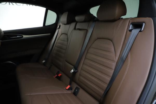 New 2020 Alfa Romeo Stelvio Ti Sport Q4 for sale Sold at Rolls-Royce Motor Cars Greenwich in Greenwich CT 06830 18