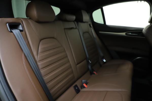 New 2020 Alfa Romeo Stelvio Ti Sport Q4 for sale Sold at Rolls-Royce Motor Cars Greenwich in Greenwich CT 06830 26