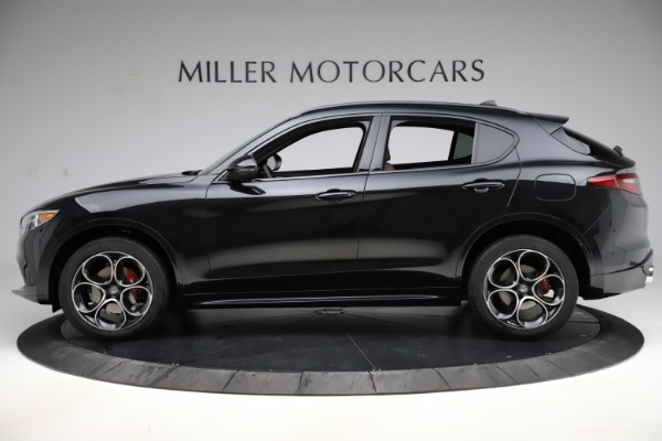 New 2020 Alfa Romeo Stelvio Ti Sport Q4 for sale Sold at Rolls-Royce Motor Cars Greenwich in Greenwich CT 06830 3
