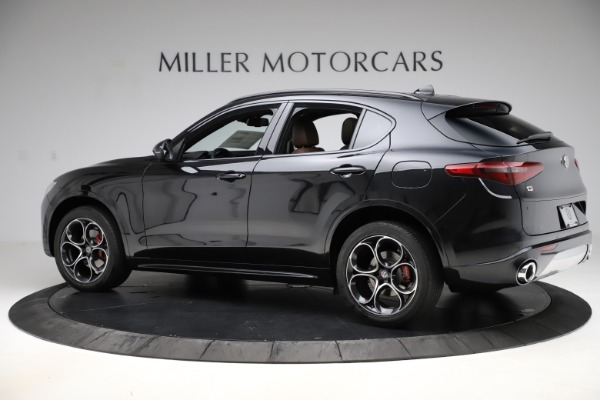 New 2020 Alfa Romeo Stelvio Ti Sport Q4 for sale Sold at Rolls-Royce Motor Cars Greenwich in Greenwich CT 06830 4
