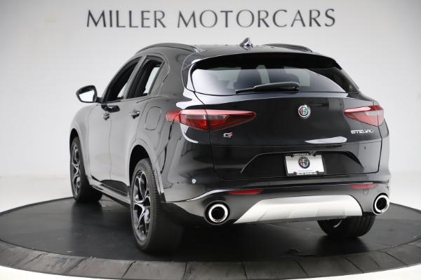 New 2020 Alfa Romeo Stelvio Ti Sport Q4 for sale Sold at Rolls-Royce Motor Cars Greenwich in Greenwich CT 06830 5