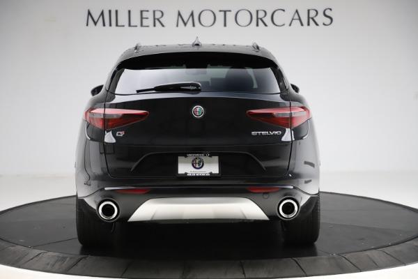 New 2020 Alfa Romeo Stelvio Ti Sport Q4 for sale Sold at Rolls-Royce Motor Cars Greenwich in Greenwich CT 06830 6