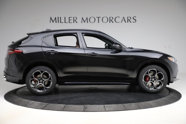 New 2020 Alfa Romeo Stelvio Ti Sport Q4 for sale Sold at Rolls-Royce Motor Cars Greenwich in Greenwich CT 06830 9