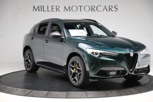 New 2020 Alfa Romeo Stelvio Ti Sport Carbon Q4 for sale Sold at Rolls-Royce Motor Cars Greenwich in Greenwich CT 06830 11