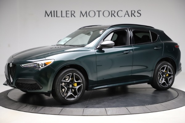 New 2020 Alfa Romeo Stelvio Ti Sport Carbon Q4 for sale Sold at Rolls-Royce Motor Cars Greenwich in Greenwich CT 06830 2