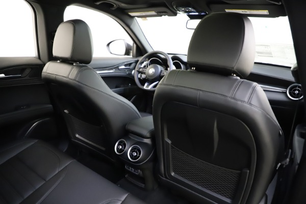New 2020 Alfa Romeo Stelvio Ti Sport Carbon Q4 for sale Sold at Rolls-Royce Motor Cars Greenwich in Greenwich CT 06830 28