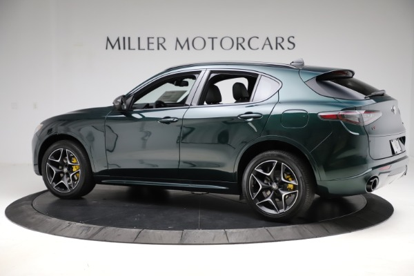 New 2020 Alfa Romeo Stelvio Ti Sport Carbon Q4 for sale Sold at Rolls-Royce Motor Cars Greenwich in Greenwich CT 06830 4