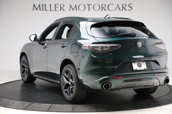 New 2020 Alfa Romeo Stelvio Ti Sport Carbon Q4 for sale Sold at Rolls-Royce Motor Cars Greenwich in Greenwich CT 06830 5