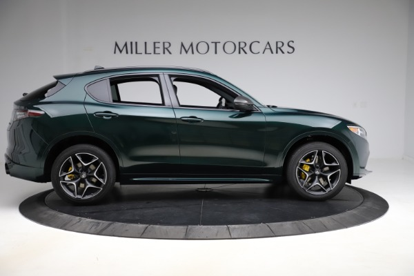 New 2020 Alfa Romeo Stelvio Ti Sport Carbon Q4 for sale Sold at Rolls-Royce Motor Cars Greenwich in Greenwich CT 06830 9